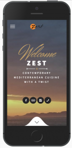 Zest Restaurant Screenshot